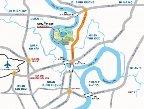Hạ tầng giao thông nâng cấp khiến Vạn Phúc City tối ưu lợi nhuận cho khách hàng đầu tư