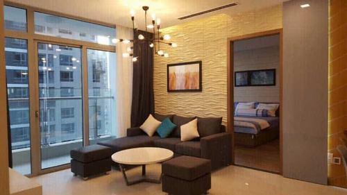 Cho thuê căn hộ Vinhomes Central Park 3 phòng ngủ Park 2 giá chất