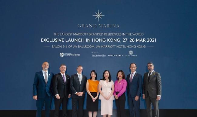 Masterise Homes chào ra mắt dự án Grand Marina SaiGon tại HongKong