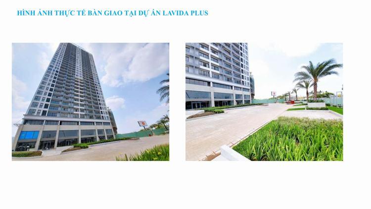 Tiến độ thi công dự án căn hộ Lavida Plus Quận 7
