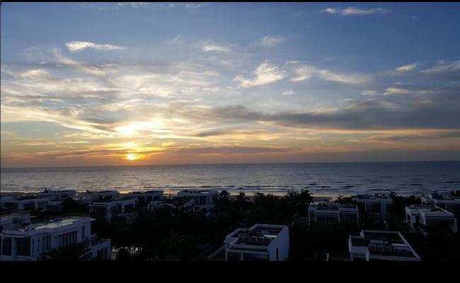 View trực diện biển từ nóc của Aria Vũng Tàu