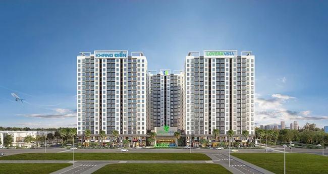 Dự án Lovera Vista có quy mô khoảng 1,8ha với 1.310 căn hộ