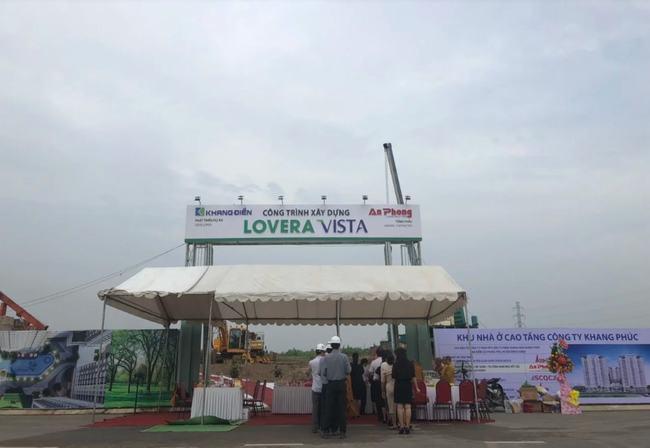Lễ khởi công dự án Lovera Vista diễn ra vào tháng 5/2019