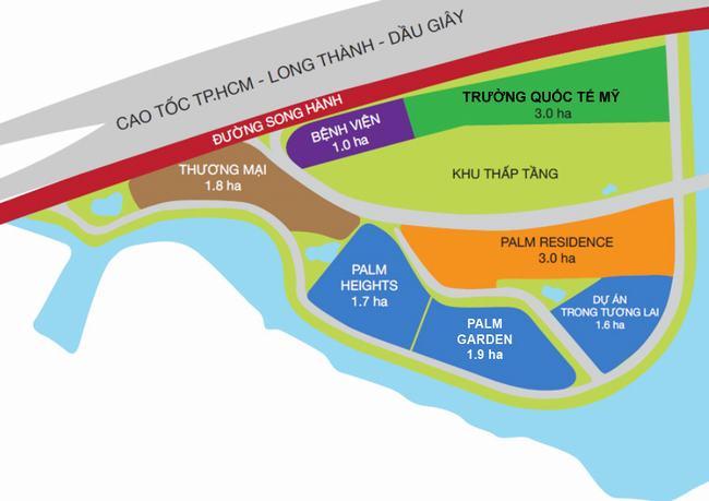 Quy hoạch khu đô thị Palm City