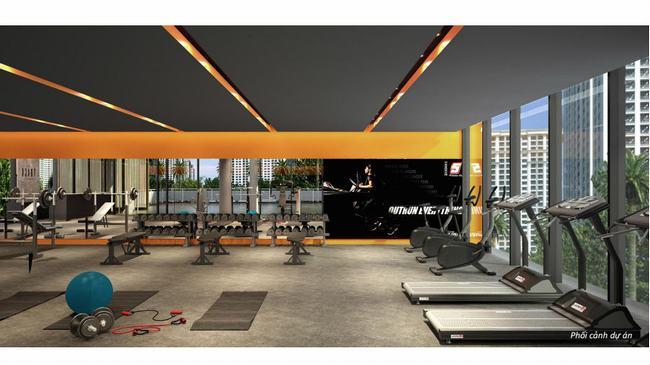 Tiện ích phòng Gym - Palm Heights