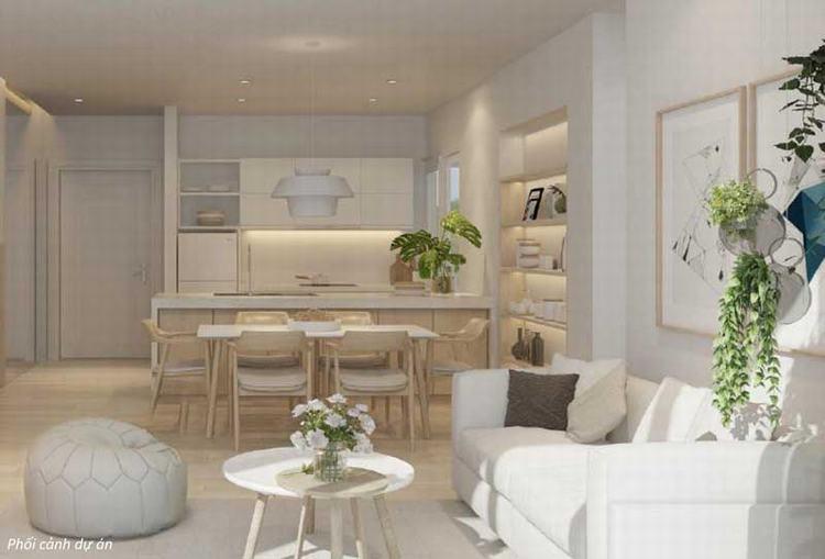 Nhà mẫu căn hộ Palm Heights
