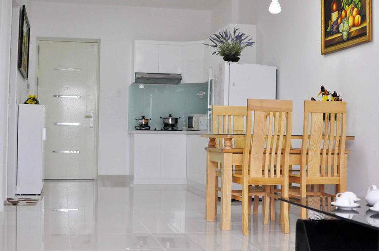Phòng bếp căn hộ Prosper Plaza
