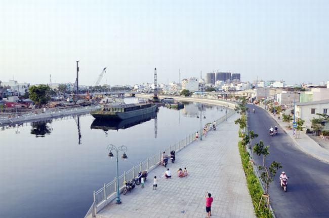 Diện mạo mới của dòng kênh Tân Hóa
