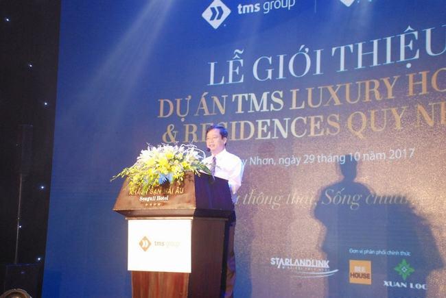 lễ ra mắt dự án TMS Hotel Quy Nhơn