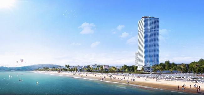 TMS Luxury Hotel & Residence Quy Nhơn sở hữu vị trí đắt giá bậc nhất Quy Nhơn.