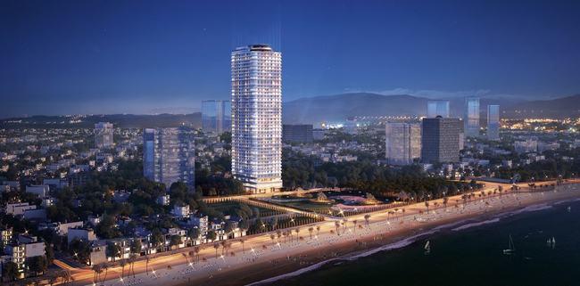 TMS Luxury Hotel & Residence Quy Nhon 42 tầng cao nhất thành phố Quy Nhơn