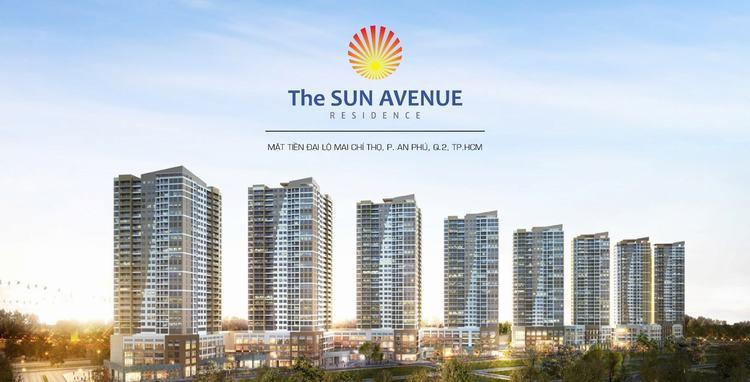 phối cảnh dự án the sun avenue