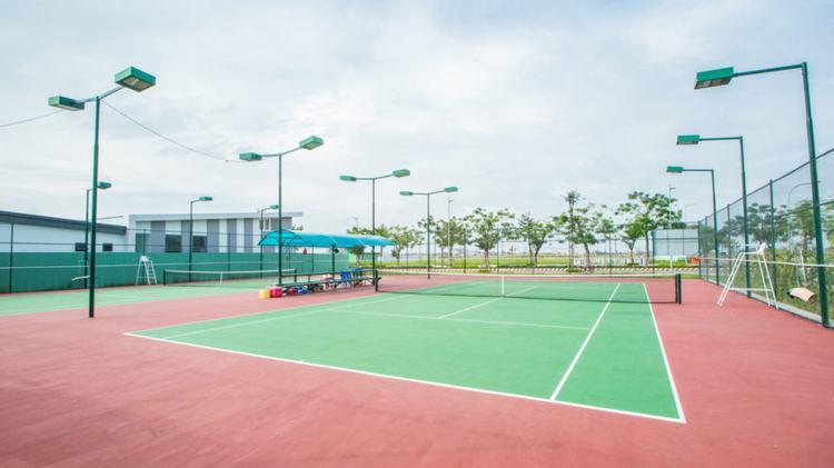 Sân tennis khu đô thị vạn phúc
