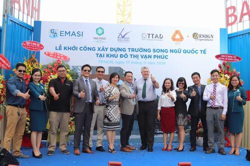 Vạn phúc city khởi công trường học song ngữ quốc tế Emasi