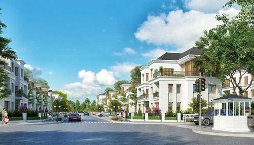 Phối cảnh dự án biệt thự Vincity Quận 9 của Tập Vingroup sẽ được công bố mở bán trong đầu năm 2018