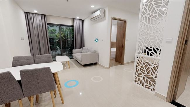 Phối cảnh căn hộ Studio 1 phòng ngủ Ocean Park