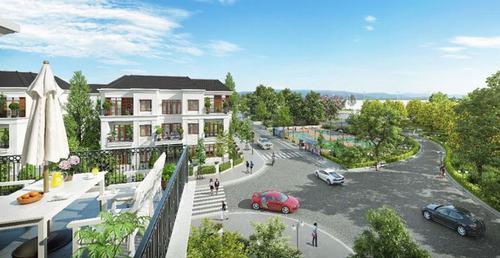 Biệt thự Vincity Quận 9 được chủ đầu tư Vingroup thiết kế theo kiến trúc Tân Cổ Điển vừa tinh tế vừa sang trọng