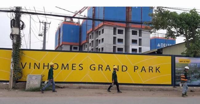 Hình ảnh thực tế dự án Vinhomes Grand Park
