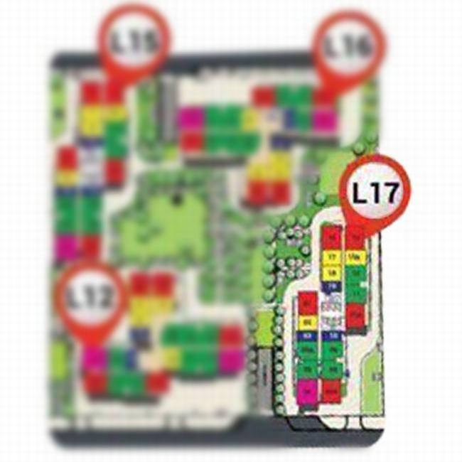 Vị trí tòa S3.03 the Rainbow Vinhomes Grand Park quận 9