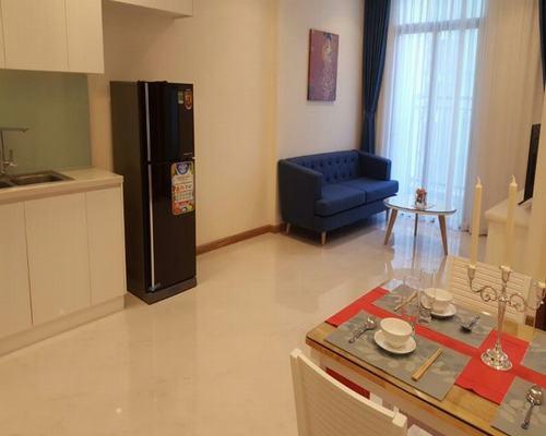 Phòng khách căn hộ cho thuê Vinhomes Central Park