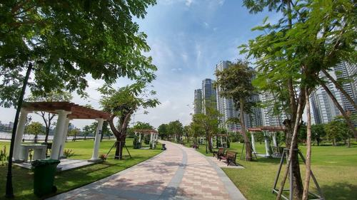 Công viên Vinhomes Central Park quận Bình Thạnh