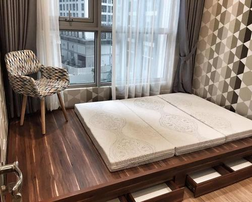 Phòng ngủ căn hộ 2 phòng ngủ Vinhomes