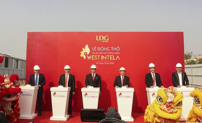LDG tổ chức lễ khởi công dự án West Intela
