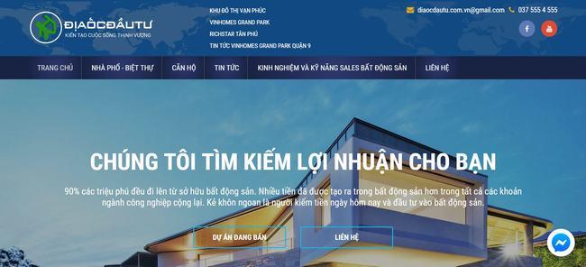 Liên hệ với DIaocdautu.com.vn