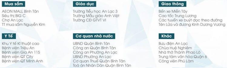 Liên kết vùng Crystal Town Bình Tân