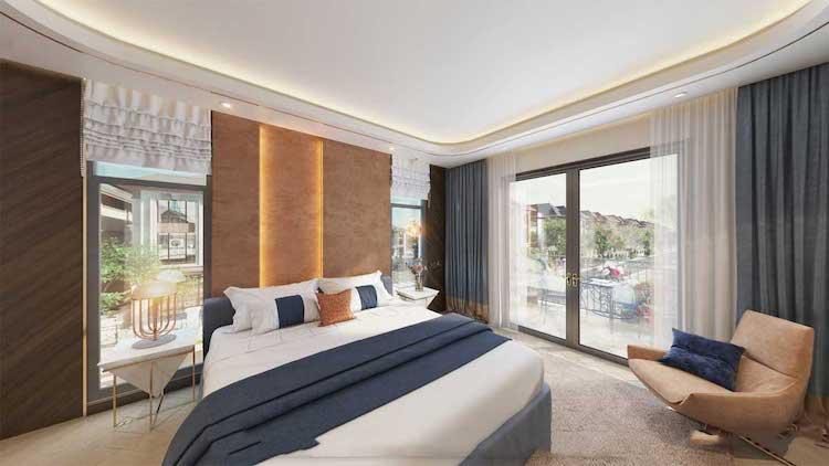Phòng ngủ master Gem Sky World