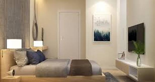 Phòng ngủ căn hộ High Intela