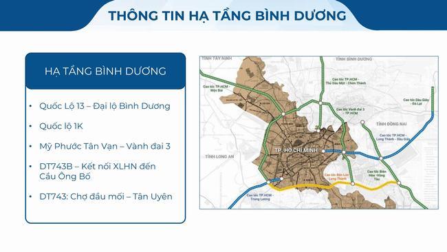 Thông tin hạ tầng dự án The Rivana Bình Dương