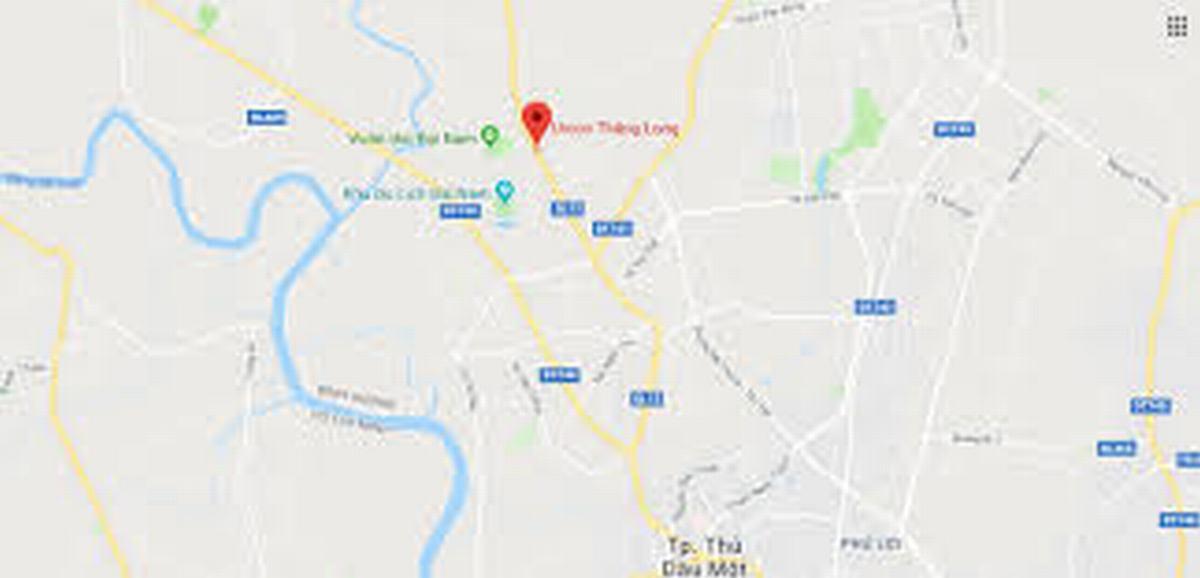 Vị trí dự án Unico Thăng Long