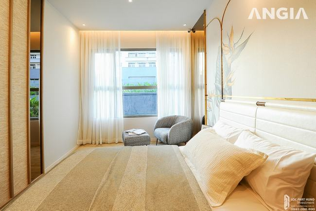 Nhà mẫu căn hộ West Gate Park - Phòng ngủ