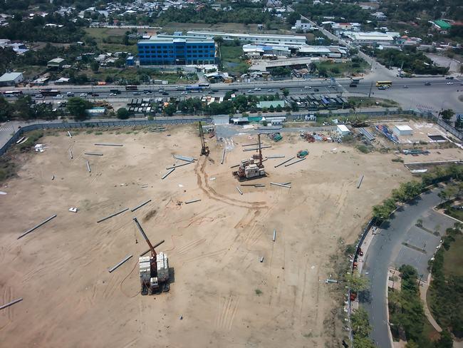 Tiến độ xây dựng dự án West Gate tháng 05/2020