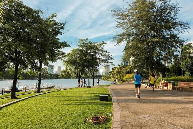 Tại đô thị sinh thái thông minh Aqua City, hơi thở thiên nhiên len lỏi trong từng nhịp sống