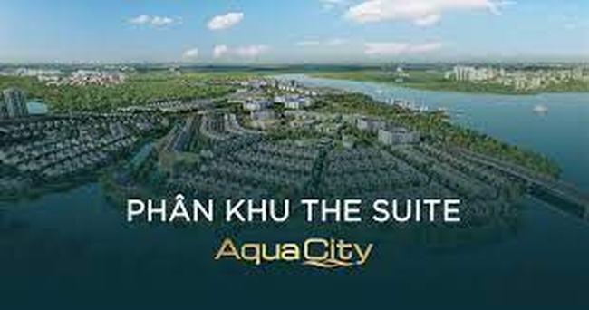 Phối cảnh phân khu The Suite - Aqua City