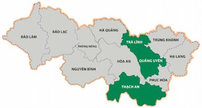 Bản đồ địa chính Cao Bằng