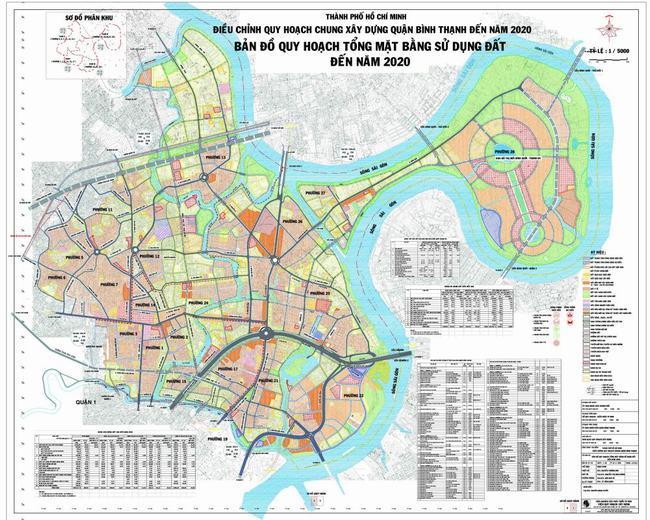 Bản đồ Bình Thạnh