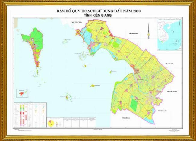 Bản đồ quy hoạch đất tỉnh Kiên Giang