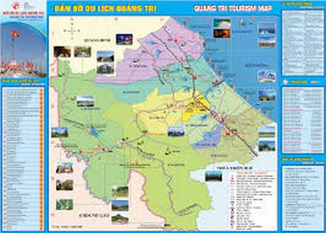 Bản đồ du lịch Quảng Trị