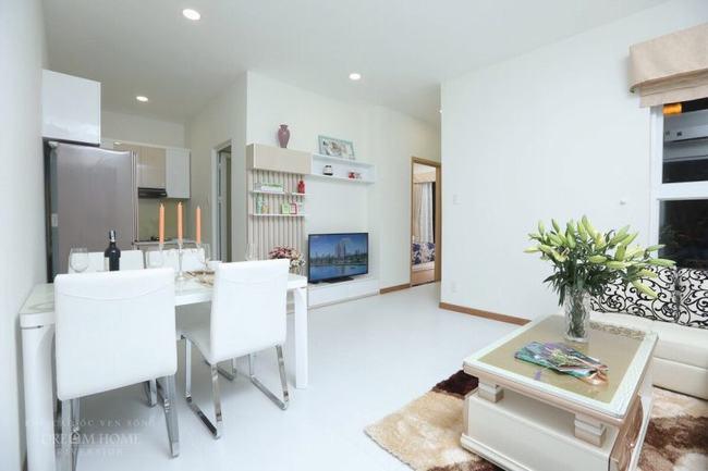 Căn hộ mẫu thực tế tại dự án Dream Home Riverside Quận 8