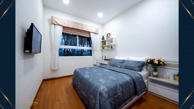 Thiết kế phòng ngủ căn hộ mẫu dự án Dream Home Riverside Quận 8