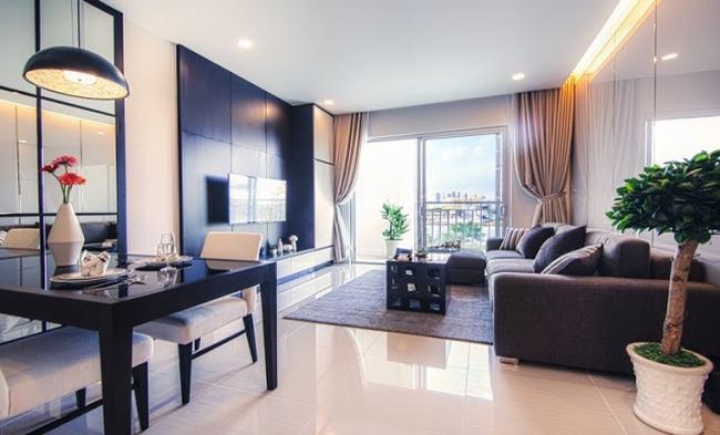 Phòng khách căn hộ Lavida Plus Quận 7