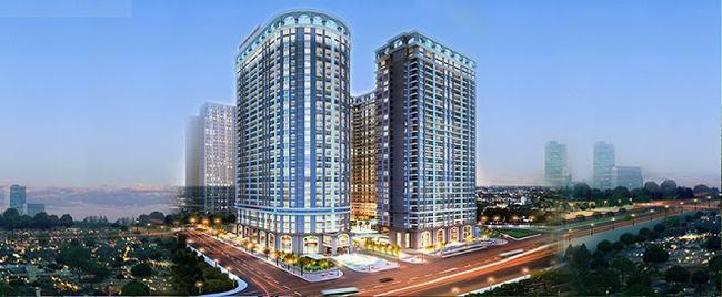 Phối cảnh dự án căn hộ Lavida Plus