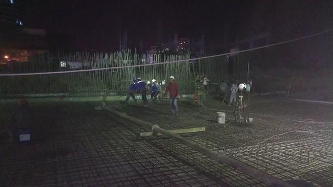 Tiến độ xây dựng thực tế Block B Lavida Plus - Tháng 03/2017