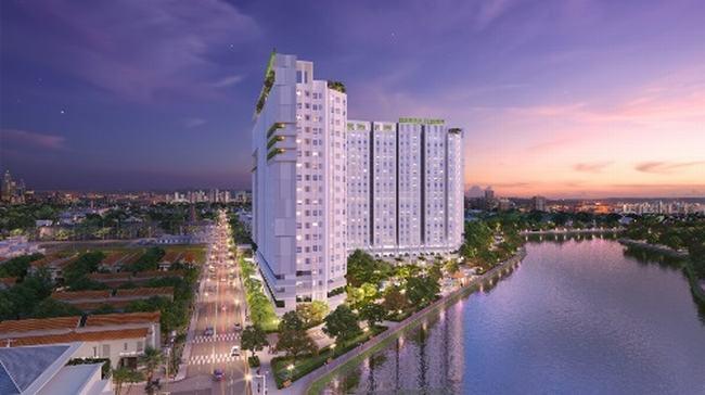 Căn hộ Marina Riverside thiết kế theo phong cách Singapore, 100% căn hộ có tầm nhìn hướng sông