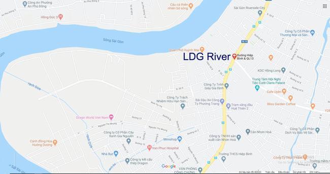 Vị trí Dự án Căn hộ LDG River Thủ Đức