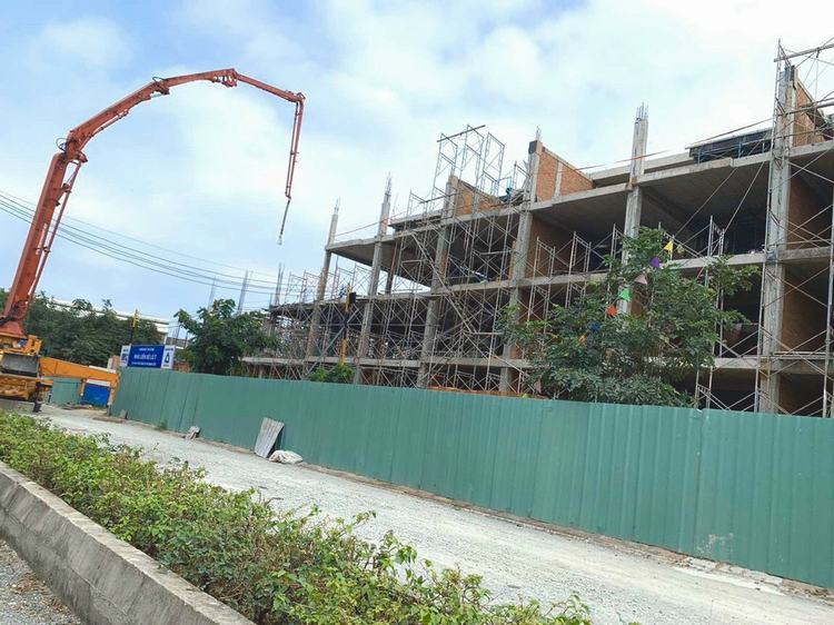 Tiến độ thực tế dự án Takara Residence Thủ Dầu Một - Bình Dương