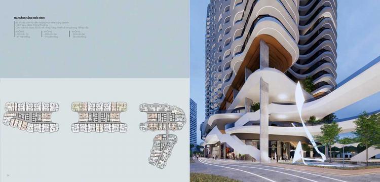 Mặt bằng tổng thể Dự án The Aston Luxury Residence Nha Trang